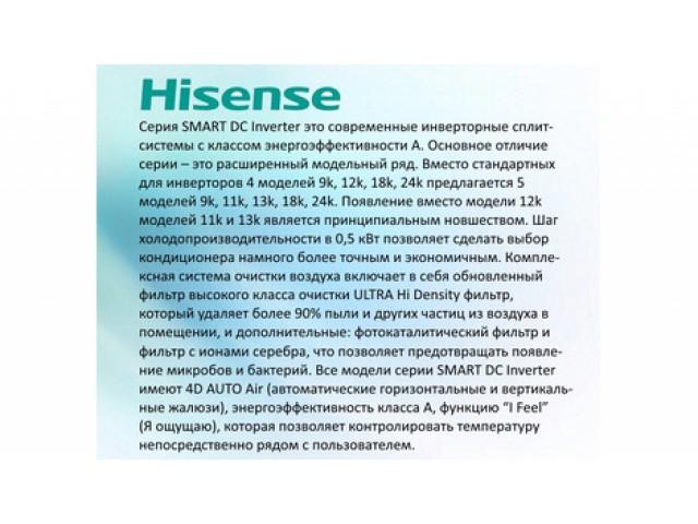 Hisense SMART AS-07UR4SYDDB1G/AS-07UR4SYDDB1W inverter
