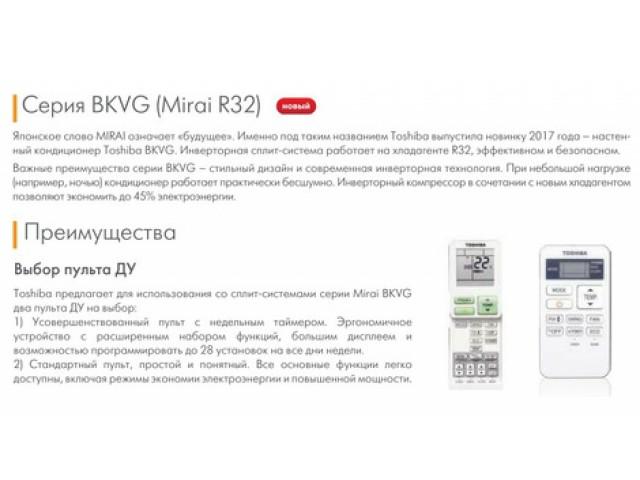 Toshiba RAS-13BKVG-E/RAS-13BAVG-E inverter