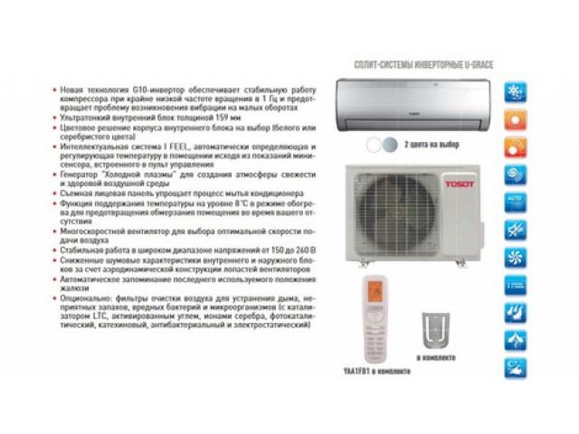 Tosot U-GRACE 1 T12H-SU1/I-W/T12H-SU1/O Inverter