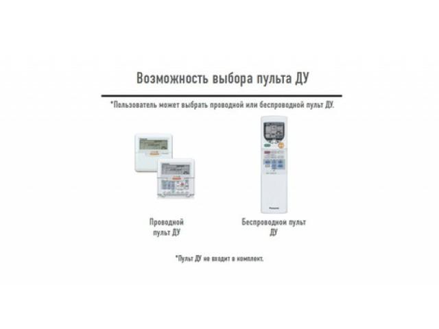 Panasonic S-F34DTE5/U-B34DBE5 напольно-потолочного типа