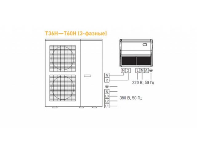Tosot T42H-LF/I_T42H-LU/O напольно-потолочного типа