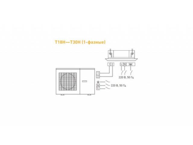 Tosot T30H-LC2/I_TС04P-LC_T30H-LU2/O кассетного типа