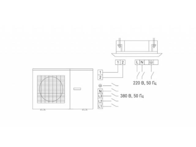 Tosot T36H-LC2/I_TС04P-LC_T36H-LU2/O кассетного типа